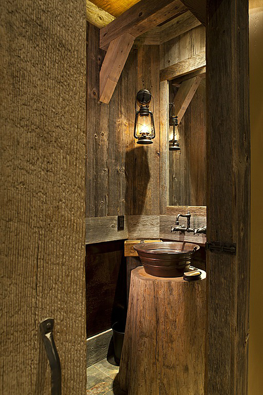Rustic Bathroom Design 24