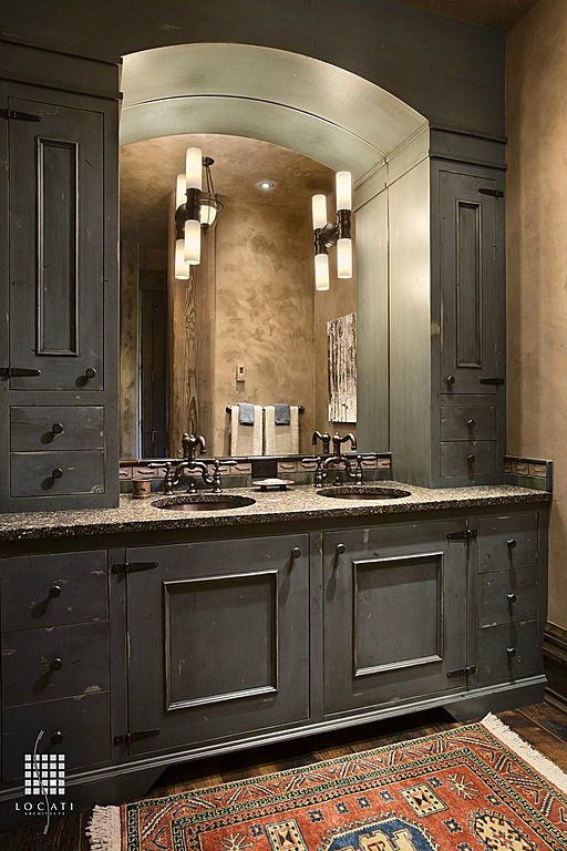 Rustic Bathroom Design 25