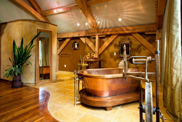 Rustic Bathroom Design 27