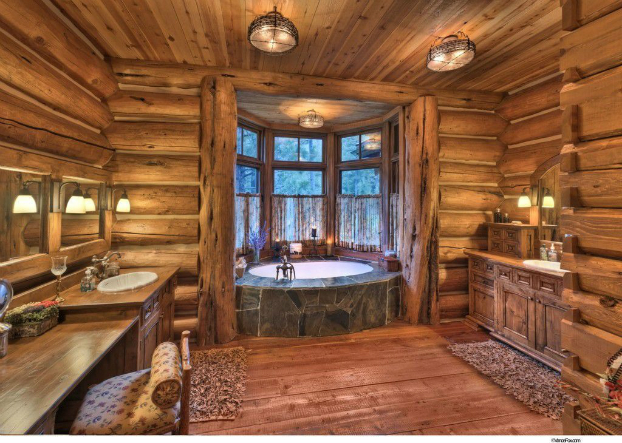 Rustic Bathroom Design 31