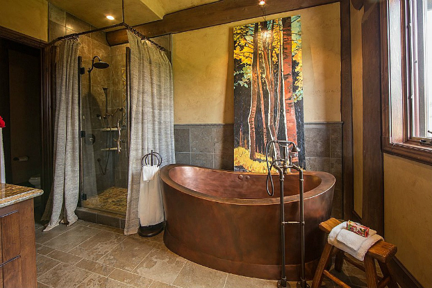 Rustic Bathroom Design 32
