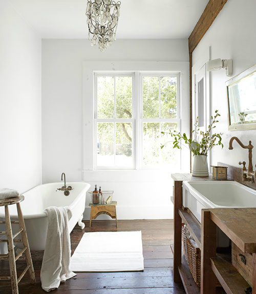 Rustic Bathroom Design 34
