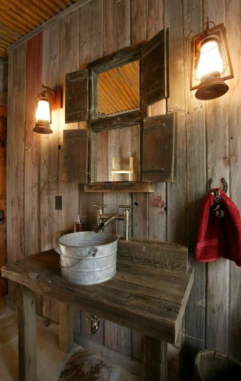 Rustic Bathroom Design 4