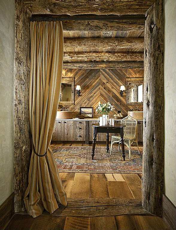 Rustic Bathroom Design 40