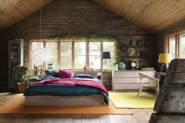 rustic bedroom decorating idea 10