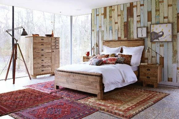 rustic bedroom decorating idea 11