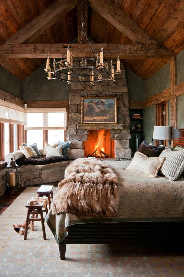 rustic bedroom decorating idea 15