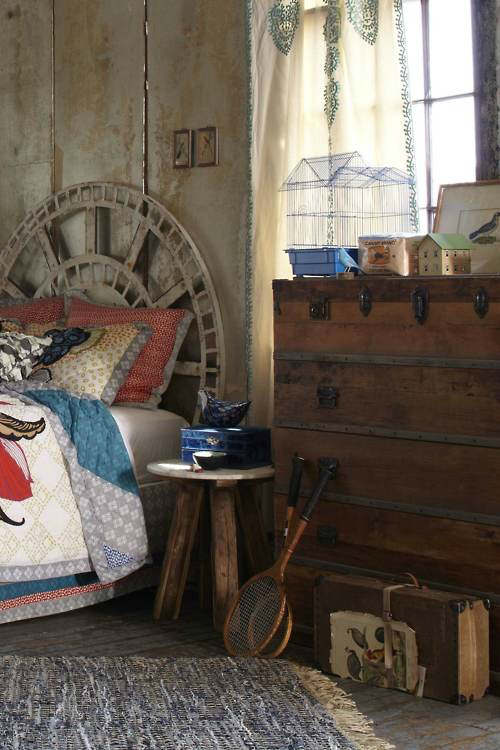 rustic bedroom decorating idea 18