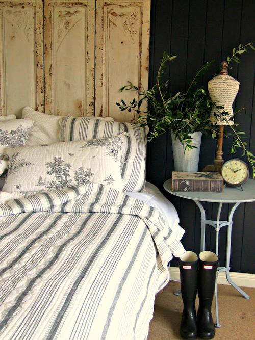 rustic bedroom decorating idea 19