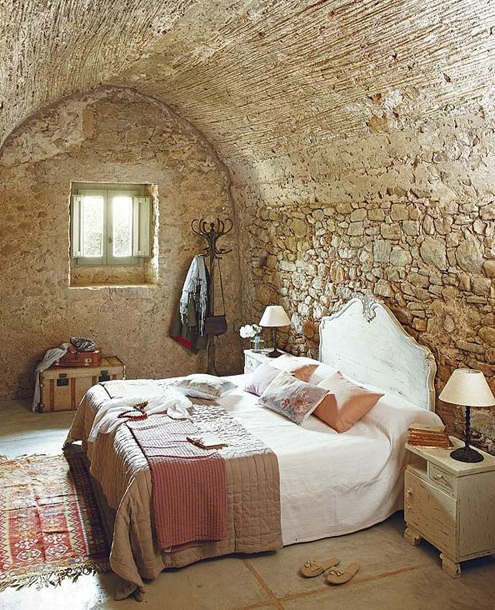 rustic bedroom decorating idea 2