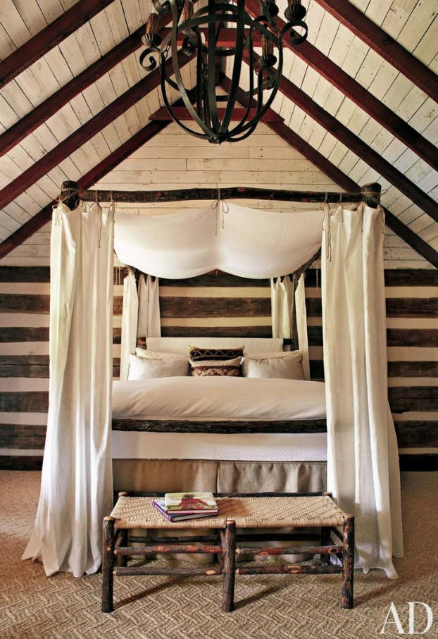 ... Rustic Bedroom Decorating Idea 20 ...