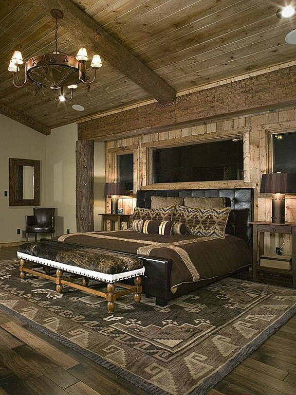 rustic bedroom decorating idea 24 - Rustic Design Ideas
