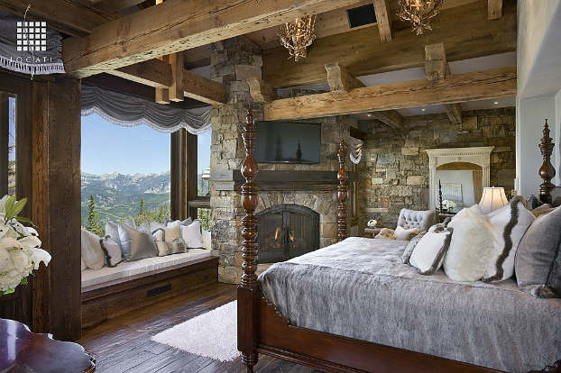 rustic bedroom decorating idea 25