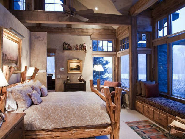 Rustic Bedroom Decorating Idea 29