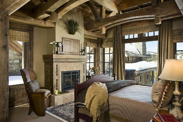 rustic bedroom decorating idea 32