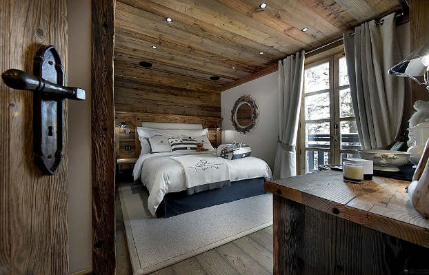rustic bedroom decorating idea 36