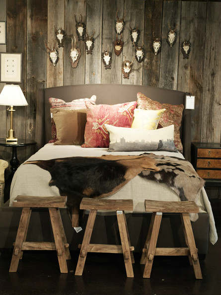 rustic bedroom decorating idea 40