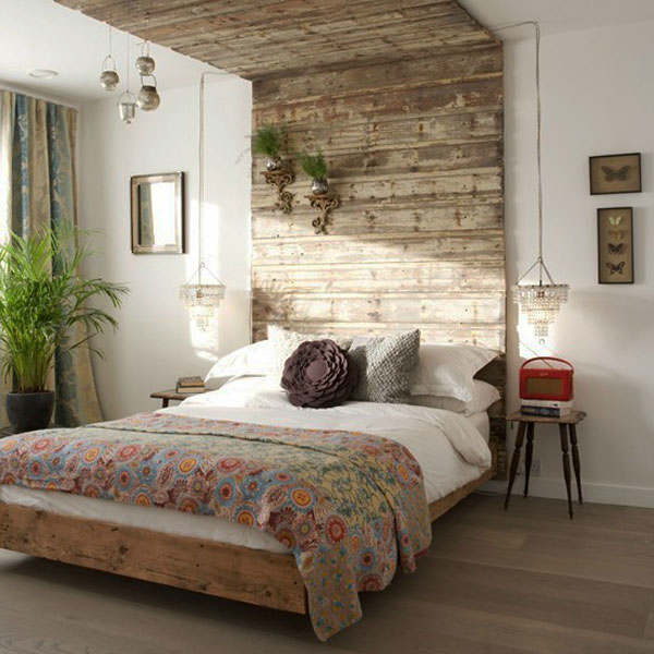rustic bedroom decorating idea 42. 50 Rustic Bedroom Decorating Ideas   Decoholic