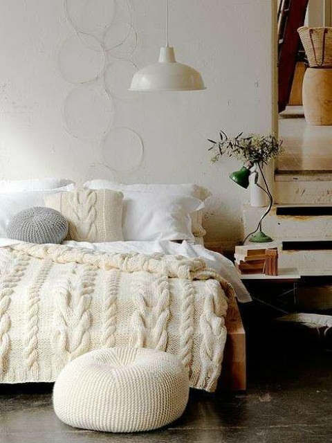 rustic bedroom decorating idea 43