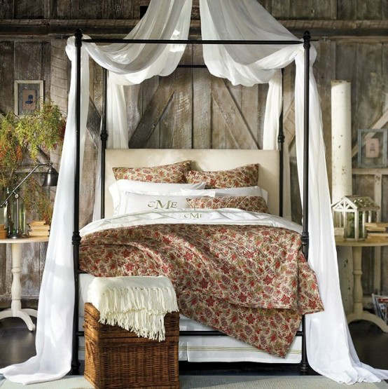 Rustic Bedroom Decorating Idea 44