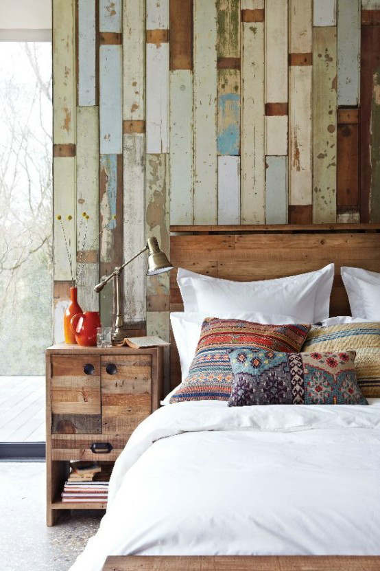 rustic bedroom decorating idea 46