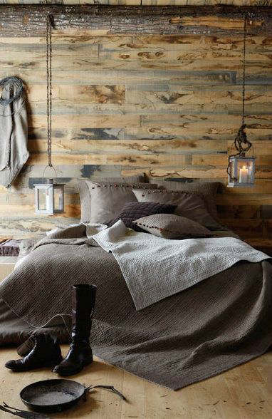 rustic bedroom decorating idea 48