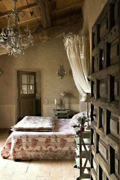 rustic bedroom decorating idea 8