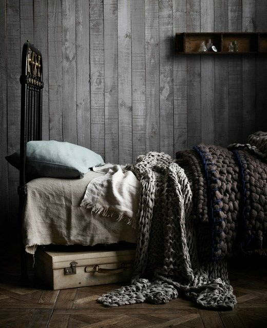 rustic bedroom decorating idea 9
