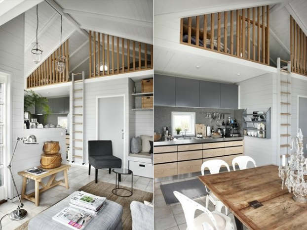 Small home big in style decoholic for Tiny house interieur