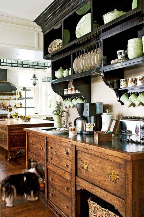 44 Stylish Kitchens With Open Shelving - Decoholic