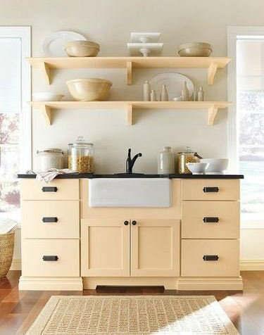 Stylish Kitchen With Open Shelving 16