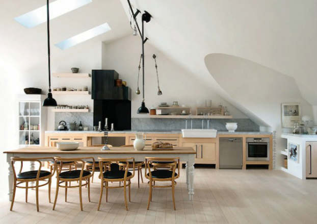 Stylish Kitchen With Open Shelving 18