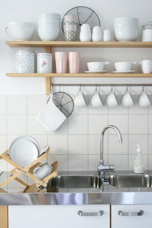 Stylish Kitchen With Open Shelving 2