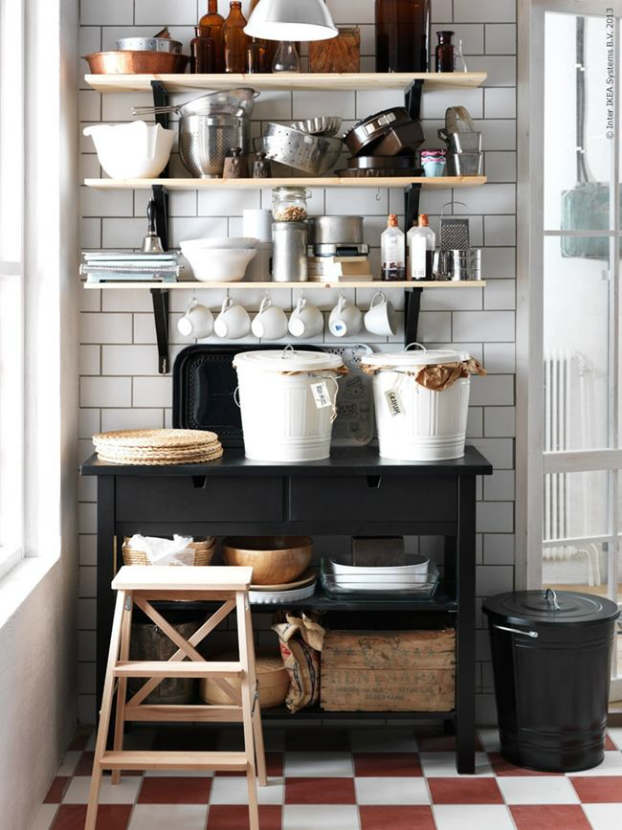 44 stylish kitchens with open shelving decoholic