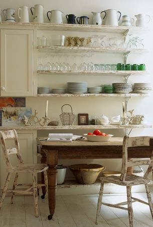 Stylish Kitchen With Open Shelving 28