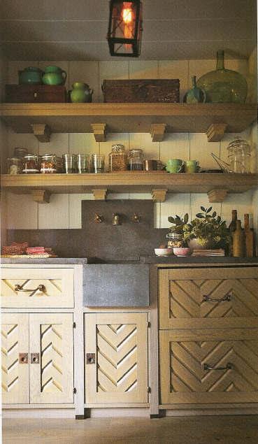 Stylish Kitchen With Open Shelving 31
