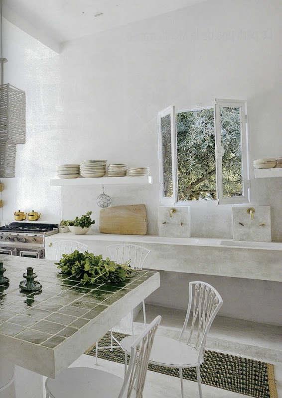 Stylish Kitchen With Open Shelving 32