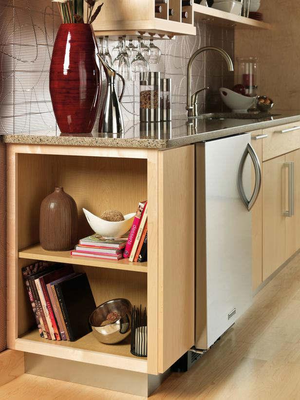 Stylish Kitchen With Open Shelving 35