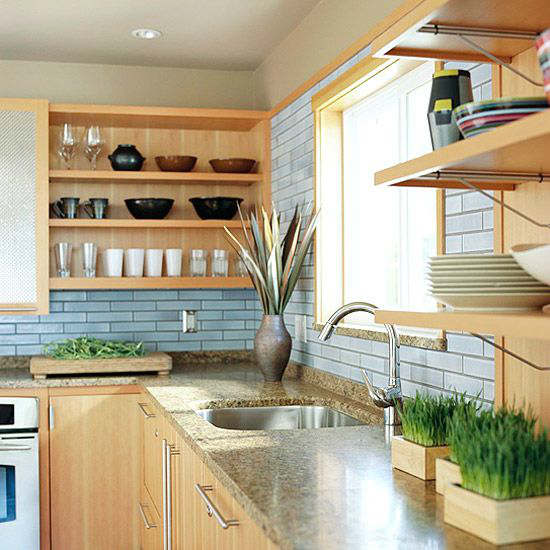 Mismatched Kitchen Cabinets: 44 Stylish Kitchens With Open Shelving
