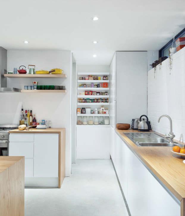 Stylish Kitchen With Open Shelving 40