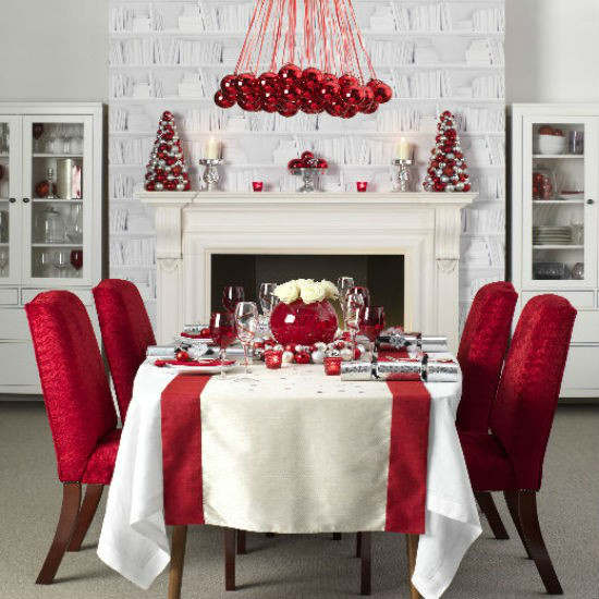 Christmas Table Decoration Ideas 42