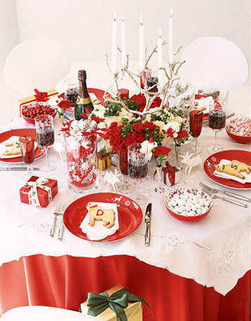 Christmas Table Decoration Ideas 85