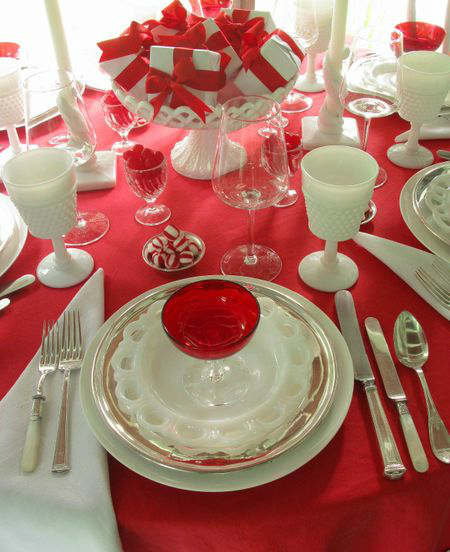 Christmas Table Decoration Ideas 86