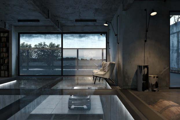 Cool Dramatic Interiors 10