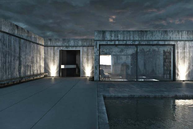 Cool Dramatic Interiors 12