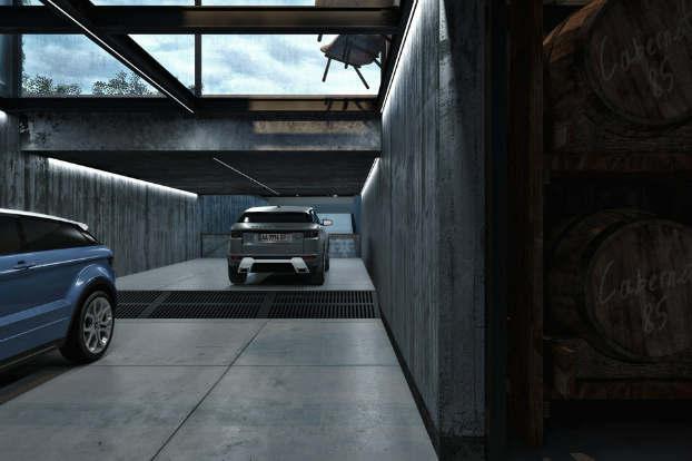 Cool Dramatic Interiors 14