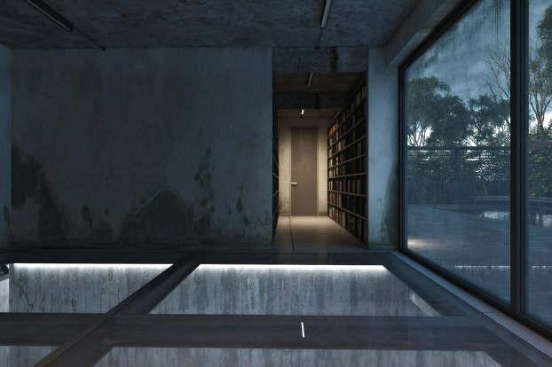 Cool Dramatic Interiors 17