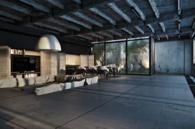 Cool Dramatic Interiors 3