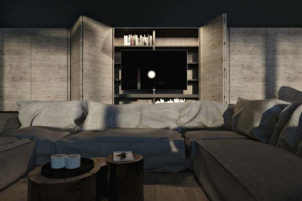 Cool Dramatic Interiors 4