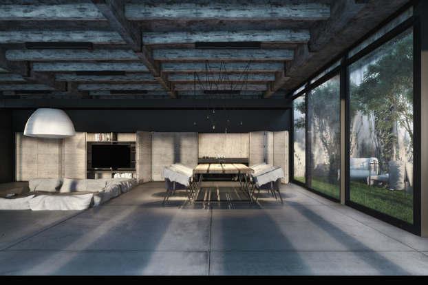 Cool Dramatic Interiors 6